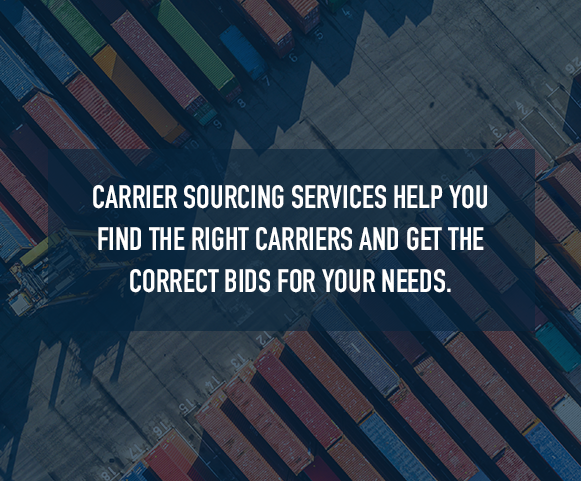 what is carrier sourcing