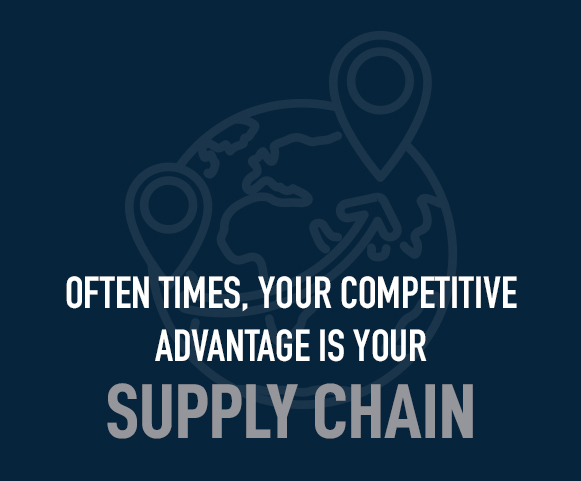 your competitive advantage is your supply chain