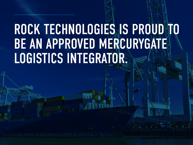 Rockfarm is an approved MercuryGate Logistics integrator