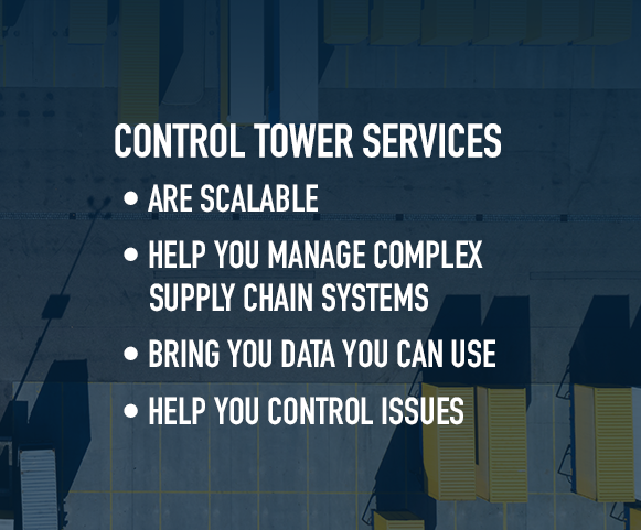 benefits of control tower services in supply chain