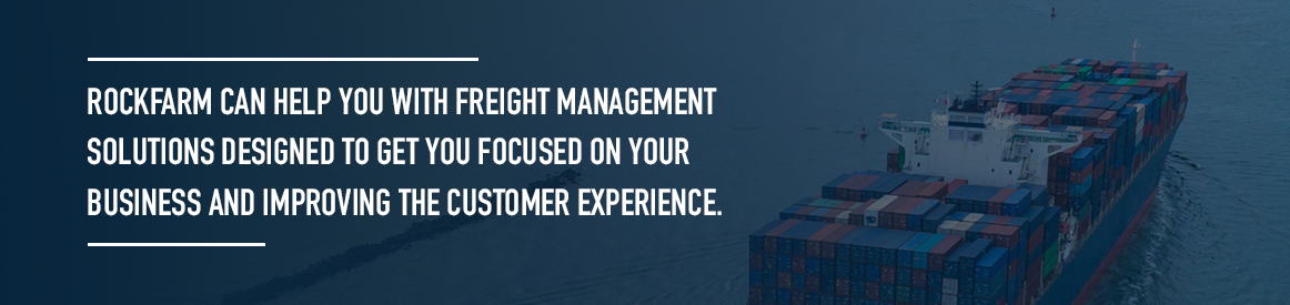 Rockfarm Freight Management Solutions
